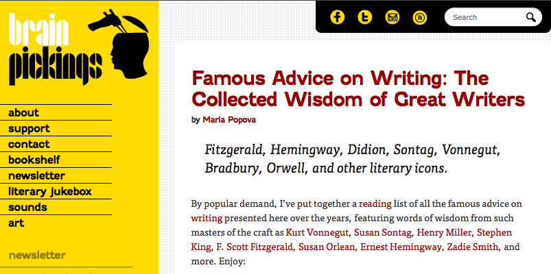 Famous-Advice-on-Writing