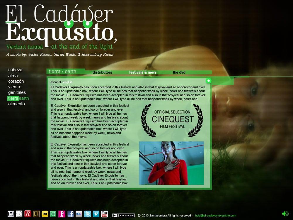ece-website-layout-victor-ruano  santasombra victor ruano el cadaver exquisito