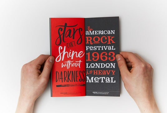 Little Black Font Book