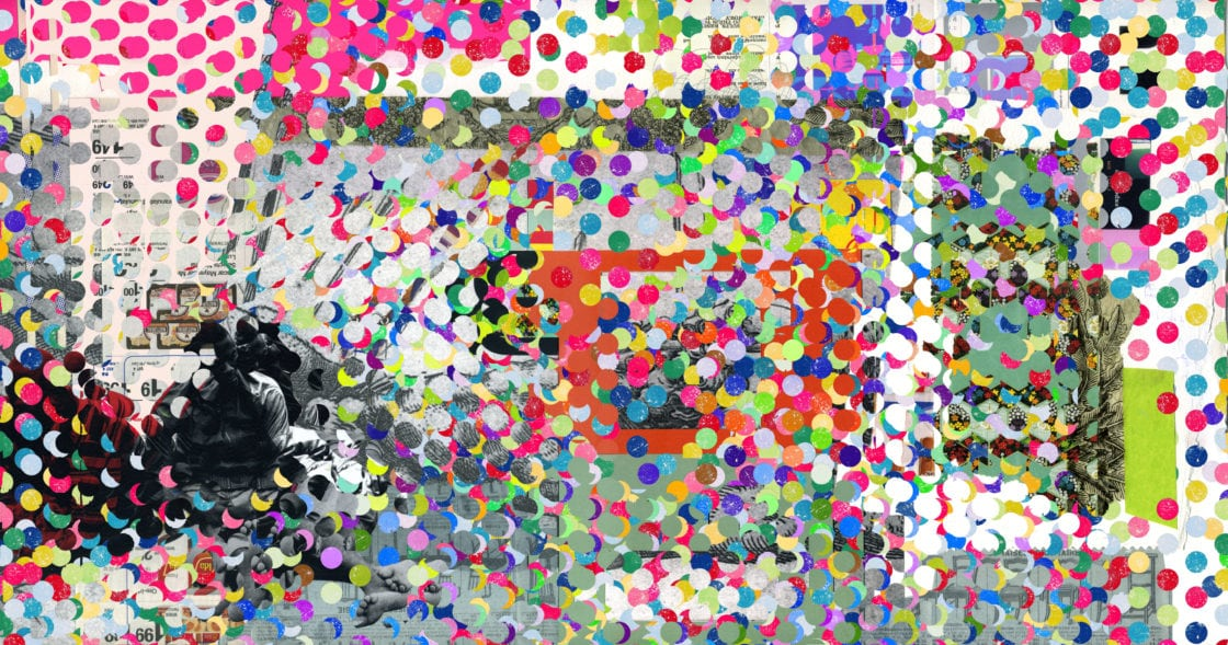 Collage dots victor ruano santasombra