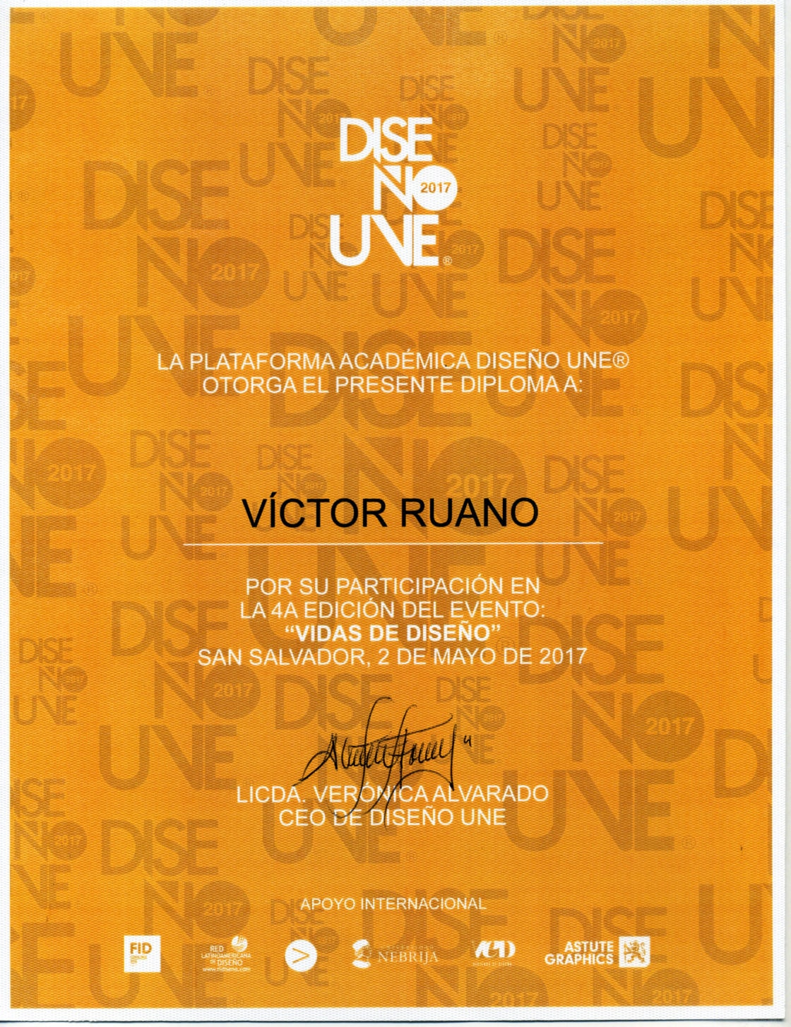 diploma-disenoune-victor-ruano-santasombra certificates